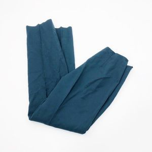 Max Mara Dark Teal Wool Trousers